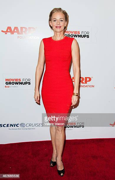 Actress Penelope Ann Miller arrives at the AARP The Magazine's 14th Annual Movies For Grownups Awards Gala at the Beverly Wilshire Four Seasons Hotel...