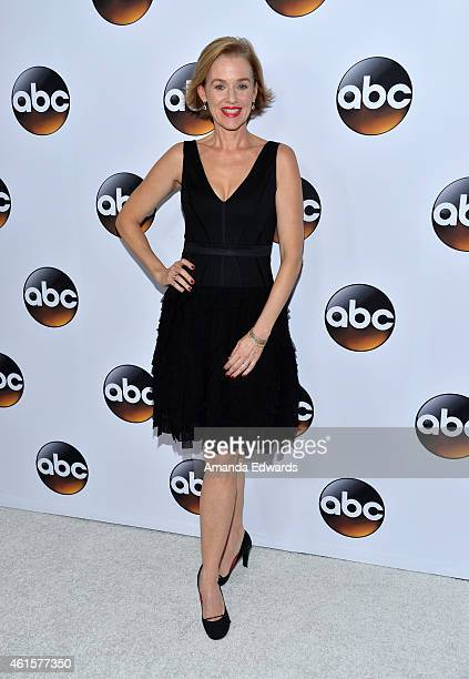 Actress Penelope Ann Miller arrives at the ABC TCA 'Winter Press Tour 2015' Red Carpet on January 14 2015 in Pasadena California
