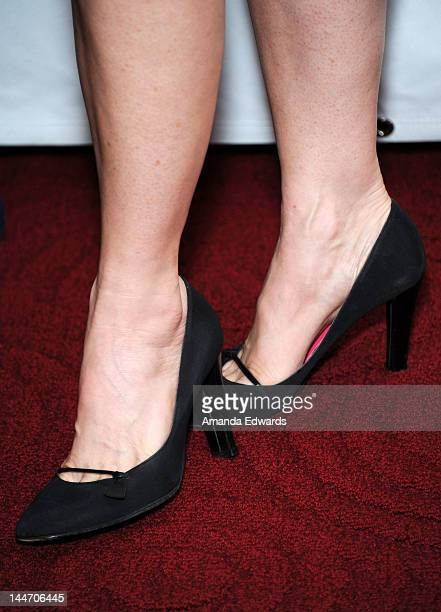Actress Penelope Ann Miller arrives at the Academy of Motion Picture Arts and Sciences' Centennial Tribute to Gene Kelly at AMPAS Samuel Goldwyn...