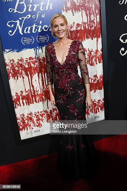 Actress Penelope Ann Miller arrives at the Premiere of Fox Searchlight Pictures' 'The Birth Of A Nation' at the ArcLight Cinemas Cinerama Dome on...