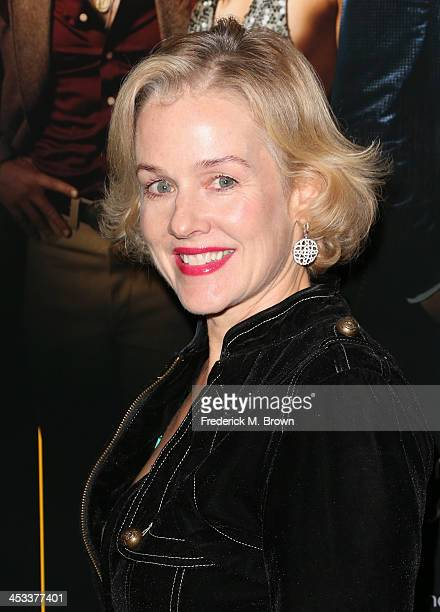 Actress Penelope Ann Miller arrives at the special screening of Columbia Pictures and Annapurna Pictures' 'American Hustle' at the Directors Guild...