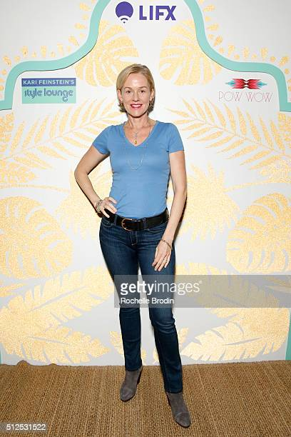 Actress Penelope Ann Miller attends Kari Feinstein's Style Lounge presented by LIFX on February 26 2016 in Los Angeles California