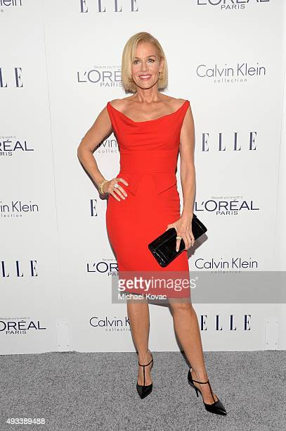 Actress Penelope Ann Miller attends the 22nd Annual ELLE Women in Hollywood Awards at Four Seasons Hotel Los Angeles at Beverly Hills on October 19...