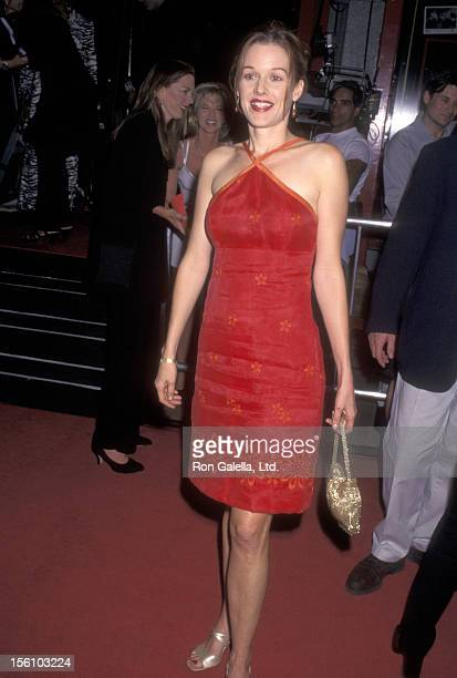 Actress Penelope Ann Miller attends the 'Boogie Nights' Hollywood Premiere on October 15 1997 at Mann's Chinese Theatre in Hollywood California