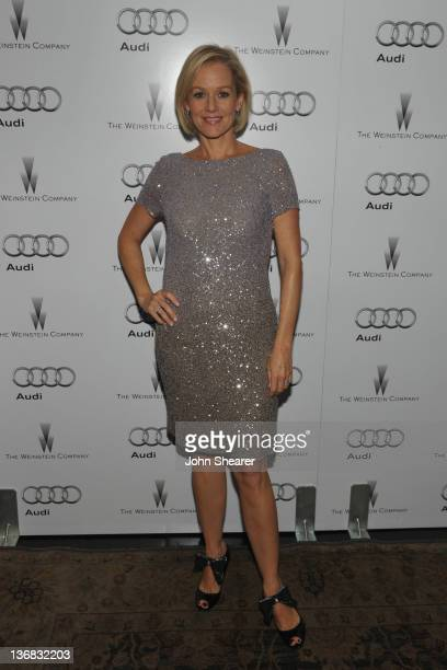 Actress Penelope Ann Miller attends the party hosted by the Weinstein Company and Audi to Celebrate Awards Season at Chateau Marmont on January 11...
