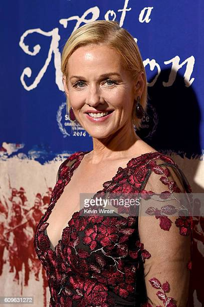 Actress Penelope Ann Miller attends the premiere of Fox Searchlight Pictures' The Birth of a Nation at ArcLight Cinemas Cinerama Dome on September 21...