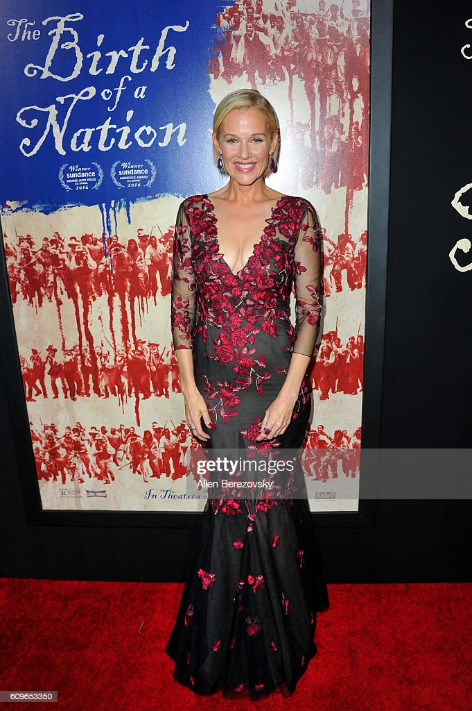 Actress Penelope Ann Miller attends the premiere of Fox Searchlight Pictures' 'The Birth of A Nation' at ArcLight Cinemas Cinerama Dome on September 21, 2016 in Hollywood, California.