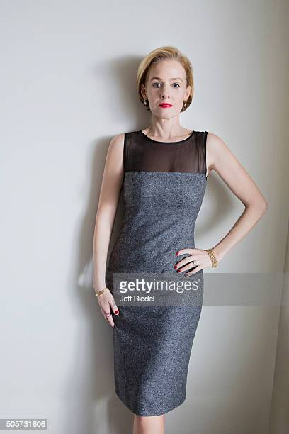 Actress Penelope Ann Miller is photographed for TV Guide Magazine on January 14 2015 in Pasadena California