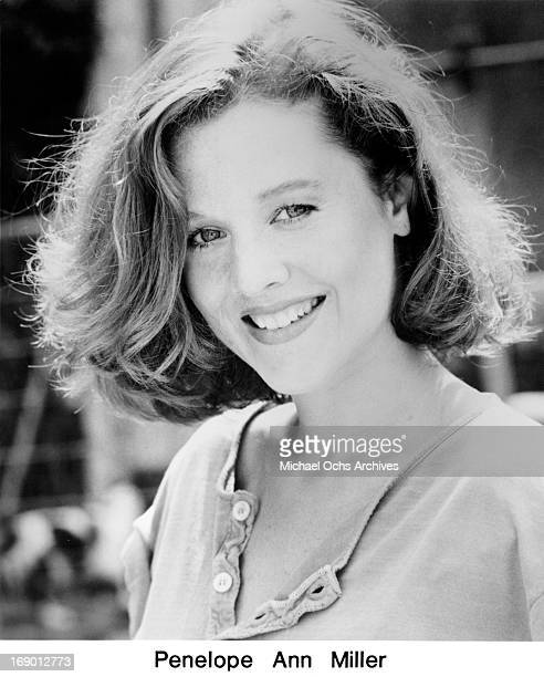 Actress Penelope Ann Miller poses for a portrait in circa 1990
