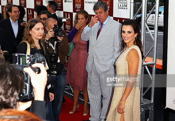 """Actress Penelope Cruz arrives at the 2012 Los Angeles Film Festival premiere sponsored by Virgin America of """"To Rome With Love"""" at Regal Cinemas L.A...."""