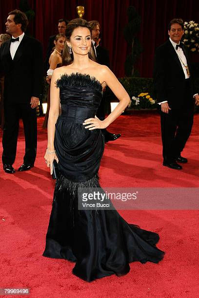 Actress Penelope Cruz arrives at the 80th Annual Academy Awards held at the Kodak Theatre on February 24 2008 in Hollywood California