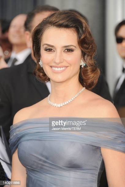 Actress Penelope Cruz arrives at the 84th Annual Academy Awards held at the Hollywood Highland Center on February 26 2012 in Hollywood California