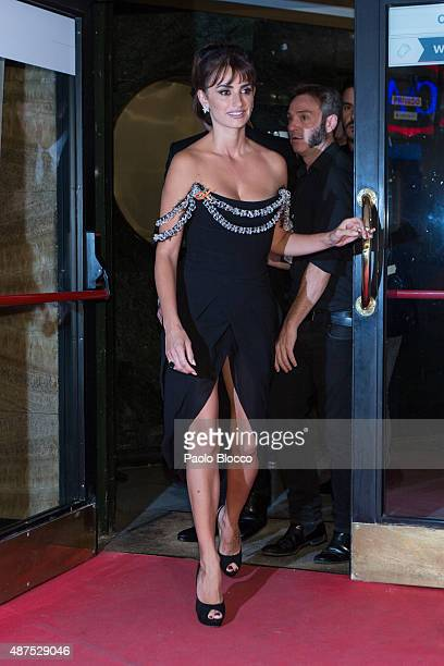 Actress Penelope Cruz arrives at the 'Ma Ma' premiere on September 9 2015 in Madrid Spain