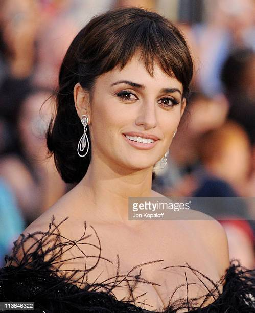Actress Penelope Cruz arrives at the World Premiere 'Pirates Of The Caribbean On Stranger Tides' at Disneyland on May 7 2011 in Anaheim California