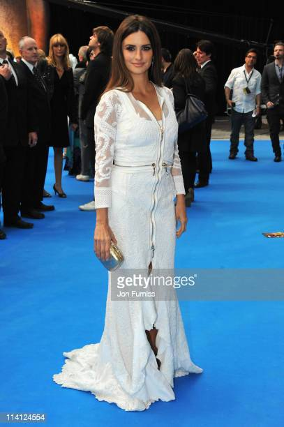 Actress Penelope Cruz arrives for the UK Premiere of 'Pirates Of The Caribbean On Stranger Tides' at Vue Westfield on May 12 2011 in London England
