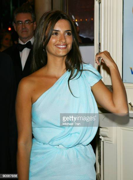 Actress Penelope Cruz arrives to the Broken Embrace premiere held during the 2009 Toronto International Film Festival held at Ryerson Theatre on...