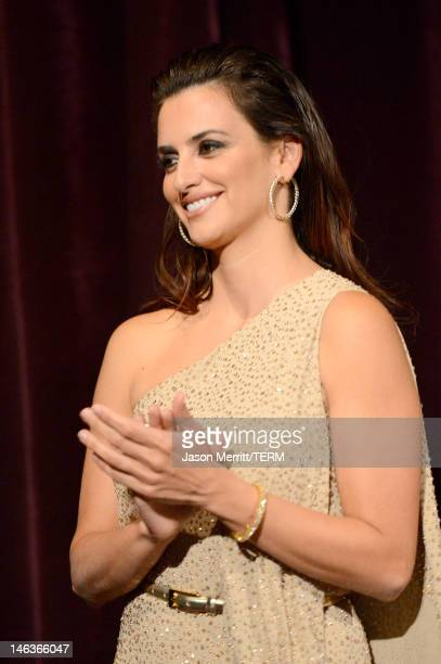 """Actress Penelope Cruz attends Film Independent's 2012 Los Angeles Film Festival Premiere of Sony Pictures Classics' """"To Rome With Love"""" at Regal..."""