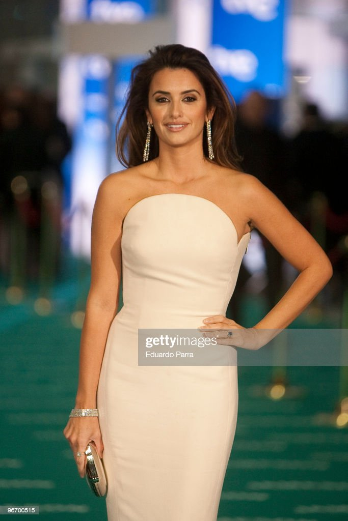 Actress Penelope Cruz attends Goya prizes photocall at Madrid City Hall on February 14, 2010 in Madrid, Spain.