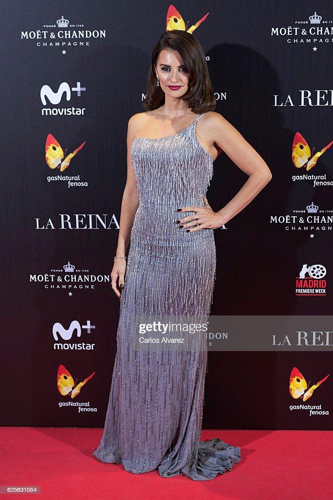 'La Reina De Espana' Madrid Premiere : ニュース写真