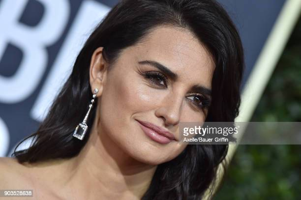 Actress Penelope Cruz attends the 75th Annual Golden Globe Awards at The Beverly Hilton Hotel on January 7 2018 in Beverly Hills California