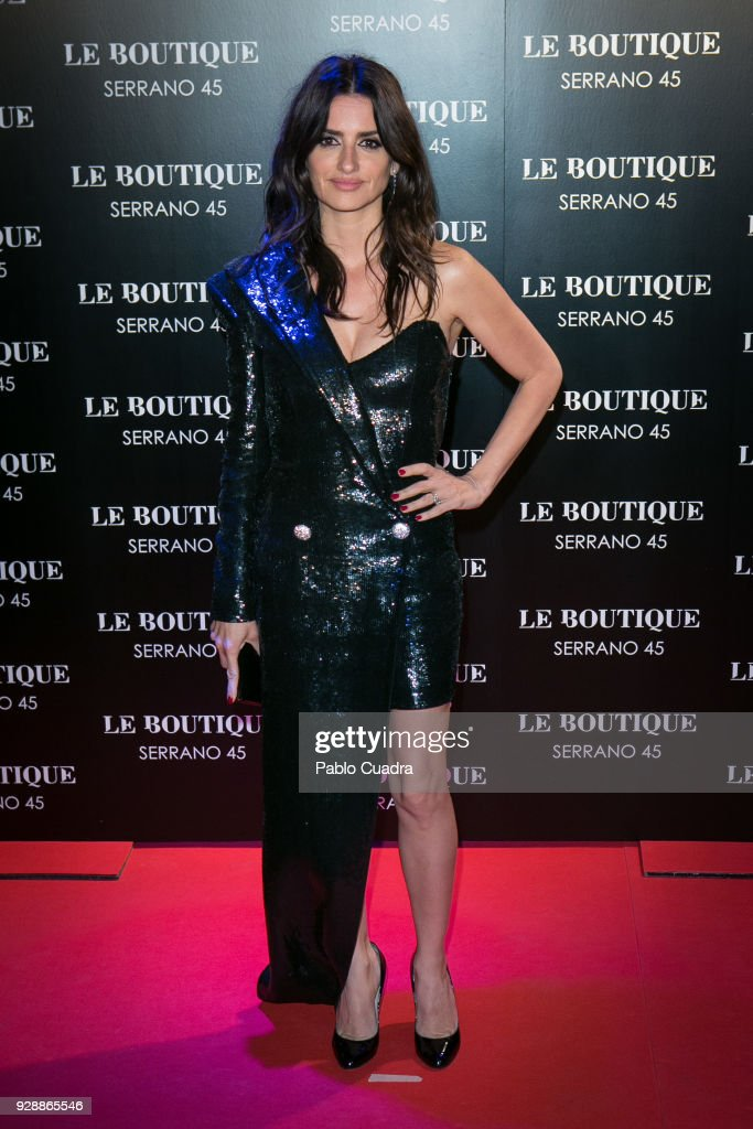 Actress Penelope Cruz attends the after party of 'Loving Pablo' premiere at Le Boutique Club on March 7, 2018 in Madrid, Spain.