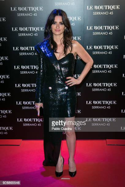 Actress Penelope Cruz attends the after party of 'Loving Pablo' premiere at Le Boutique Club on March 7 2018 in Madrid Spain