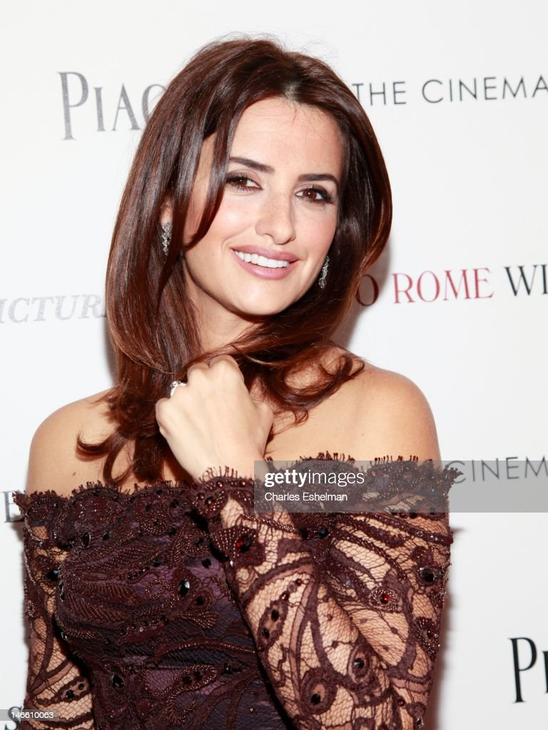 Actress Penelope Cruz attends The Cinema Society with the Hollywood Reporter & Piaget and Disaronno screening of 'To Rome With Love' at The Paris Theatre on June 20, 2012 in New York City.