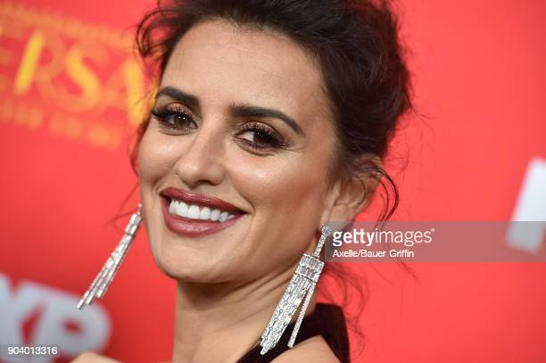 Actress Penelope Cruz attends the Los Angeles Premiere of 'The Assassination of Gianni Versace American Crime Story' at ArcLight Hollywood on January...