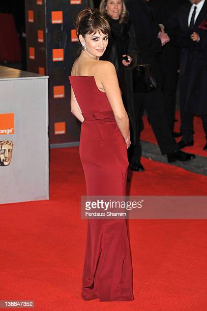 Actress Penelope Cruz attends the Orange British Academy Film Awards 2012 at the Royal Opera House on February 12, 2012 in London, England.