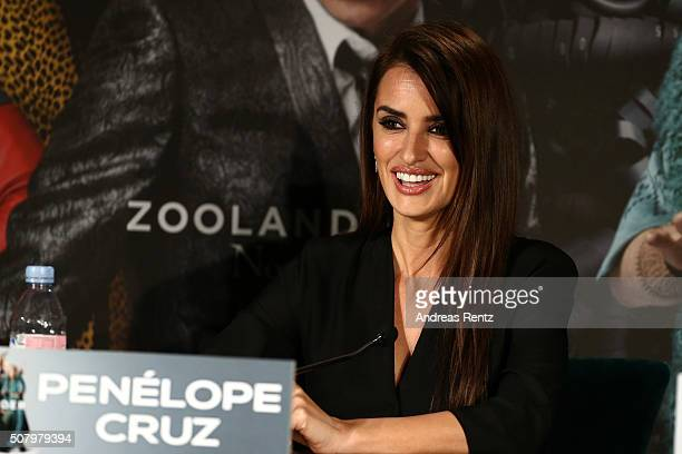 Actress Penelope Cruz attends the photo call for the fan screening of the Paramount Pictures film 'Zoolander No 2' at Soho House on February 2 2016...