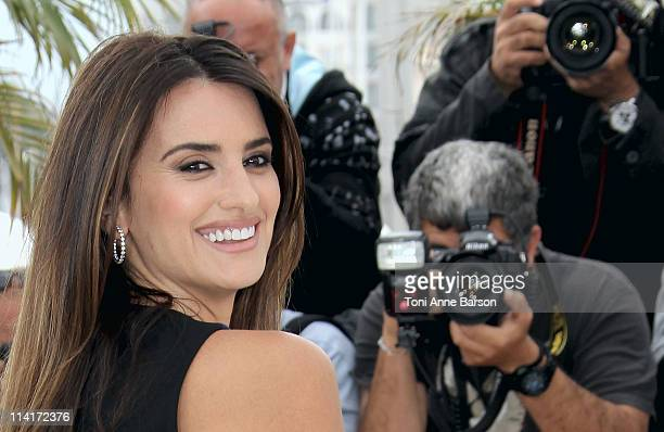 Actress Penelope Cruz attends the 'Pirates of the Caribbean On Stranger Tides' Photocall during the 64th Annual Cannes Film Festival at Palais des...