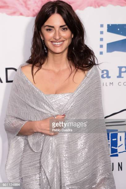 Actress Penelope Cruz attends the 'Union de Actores' awards at Circo Price theater on March 12 2018 in Madrid Spain