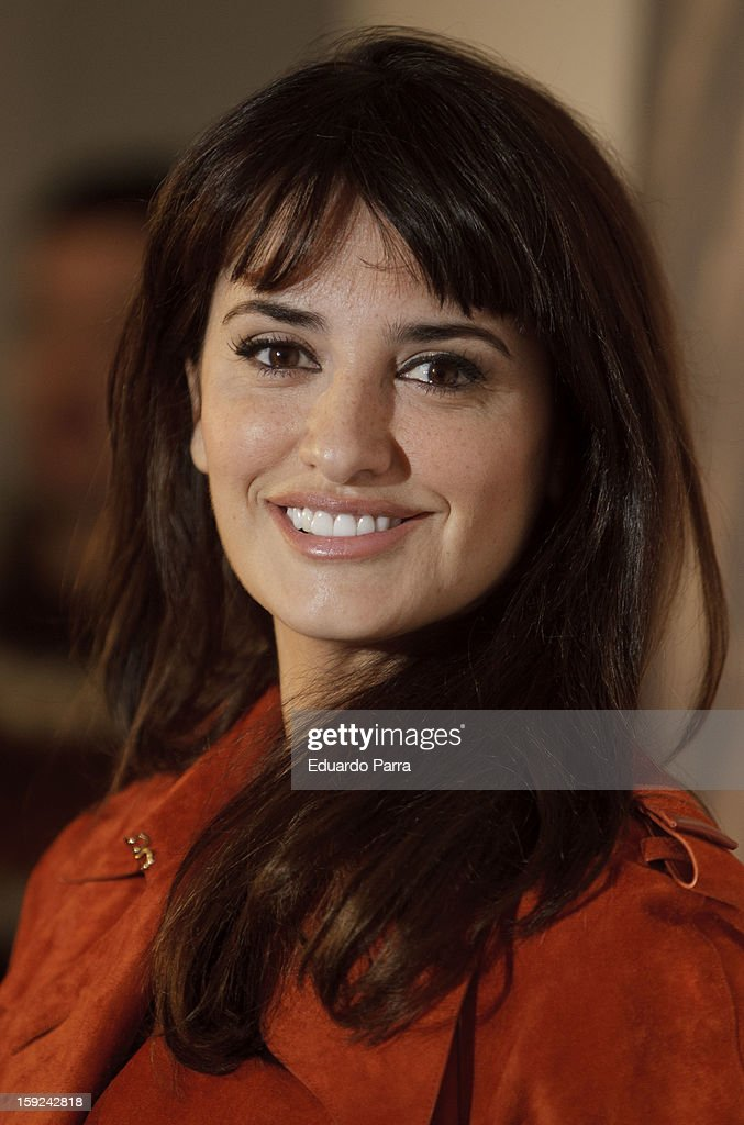 Actress Penelope Cruz attends the 'Venuto al mondo' ('Volver a nacer') photocall at Santo Mauro hotel on January 10, 2013 in Madrid, Spain.