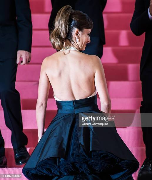 Actress Penelope Cruz is seen arriving to the 2019 Met Gala Celebrating Camp: Notes on Fashion at The Metropolitan Museum of Art on May 6, 2019 in...