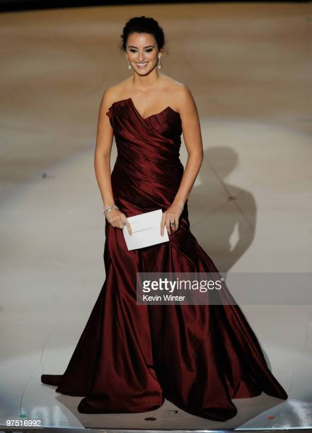 Actress Penelope Cruz onstage during the 82nd Annual Academy Awards held at Kodak Theatre on March 7 2010 in Hollywood California