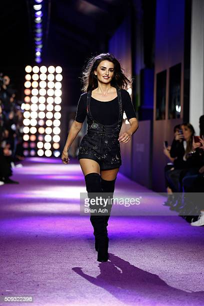 Actress Penelope Cruz walks the runway during the 'Zoolander No 2' World Premiere at Alice Tully Hall on February 9 2016 in New York City