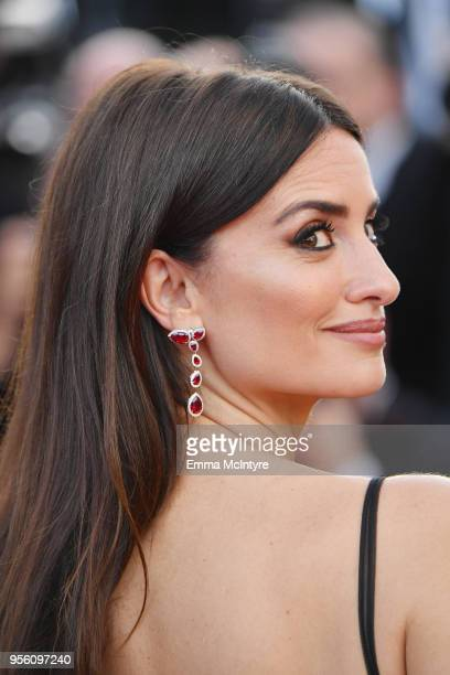 """Actress Penelope Cruz, wearing jewels by Atelier Swarovski Fine Jewelry, attends the screening of """"Everybody Knows """" and the opening gala during the..."""