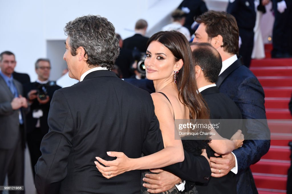 Actress Penelope Cruz, wearing jewels by Atelier Swarovski Fine Jewelry, attends the screening of 'Everybody Knows (Todos Lo Saben)' and the opening gala during the 71st annual Cannes Film Festival at Palais des Festivals on May 8, 2018 in Cannes, France.