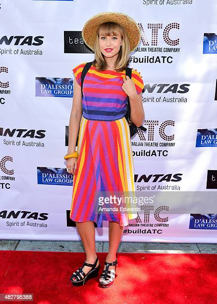 Actress Penelope Mitchell arrives at the Australian Theatre Company fundraiser hosted by the Australian ConsulGeneral on August 2 2015 in Los Angeles...