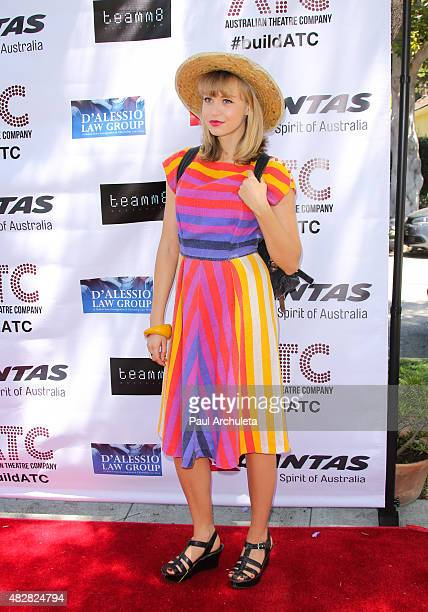 Actress Penelope Mitchell attends the Australian Consulate General's fundraiser for the Australian Theatre Company on August 2 2015 in Los Angeles...