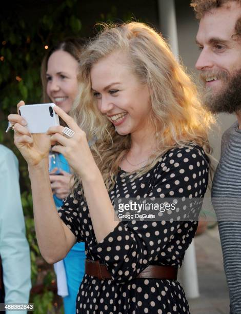 Actress Penelope Mitchell attends the media launch for the Australian Theatre Company on April 23 2014 in Los Angeles California