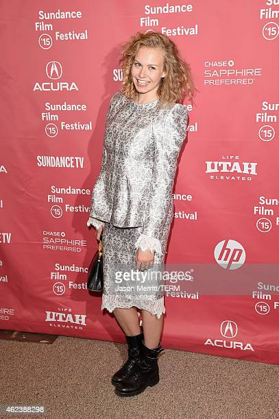 Actress Penelope Mitchell attends the 'Zipper' premiere during the 2015 Sundance Film Festival on January 27 2015 in Park City Utah
