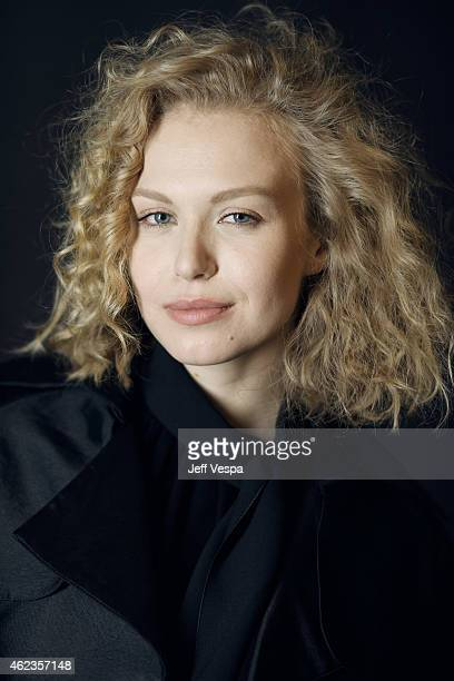 Actress Penelope Mitchell of 'Zipper' poses for a portrait at the Village at the Lift Presented by McDonald's McCafe during the 2015 Sundance Film...