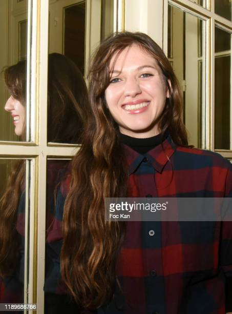 Actress Penelope Rose Leveque attends the Poesie En Liberté 2019 Awards Ceremony At Mairie Du 5eme on November 23 2019 in Paris France