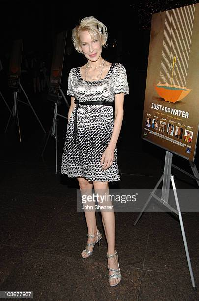 Actress Penny Balfour arrives to the premiere of 'Just Add Water' at the Directors Guild of America on March 18 2008 in Hollywood California