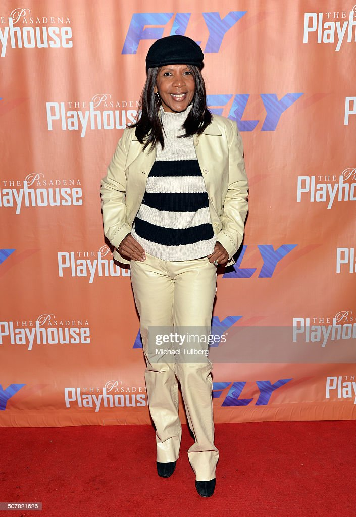 Actress Penny Jerald attends the opening night of the play 'Fly' at Pasadena Playhouse on January 31, 2016 in Pasadena, California.