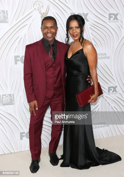 Actress Penny Johnson Jerald and Musician Gralin Jerald attend the FOX Broadcasting Company Twentieth Century Fox Television FX and National...