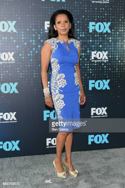 Actress Penny Johnson Jerald attends the 2017 FOX Upfront at Wollman Rink on May 15 2017 in New York City