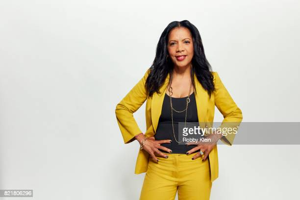Actress Penny Johnson Jerald from FOX's 'The Orville' poses for a portrait during ComicCon 2017 at Hard Rock Hotel San Diego on July 22 2017 in San...