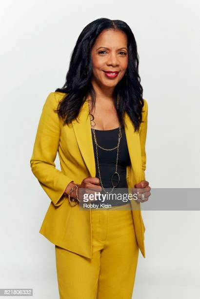 Actress Penny Johnson Jerald from FOX's 'The Orville' poses for a portrait during Comic-Con 2017 at Hard Rock Hotel San Diego on July 22, 2017 in San...